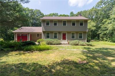 Ledyard Single Family Home For Sale: 105 Church Hill Road