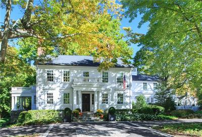 New Canaan Single Family Home For Sale: 183 West Road