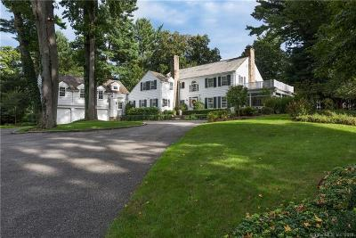Darien Single Family Home For Sale: 5 South Trail