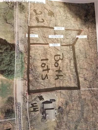 Eastford Residential Lots & Land For Sale: 00 Kennerson Reservoir Road