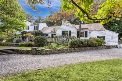 Darien Single Family Home For Sale: 24 Sunswyck Road