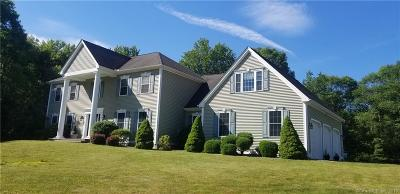 Tolland County, Windham County Single Family Home For Sale: 37 Stonecroft Lane
