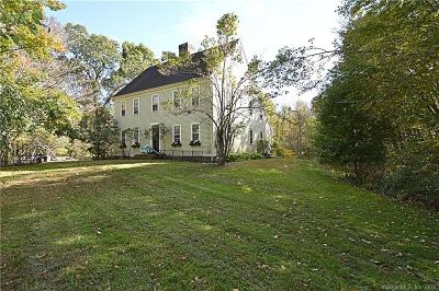 Tolland County, Windham County Single Family Home For Sale: 200 Gilead Street