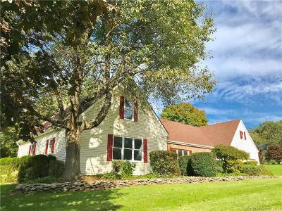 Cheshire Single Family Home For Sale: 24 North Pond Road