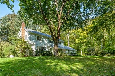 New Canaan Single Family Home For Sale: 60 Evergreen Road