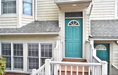 New Canaan Condo/Townhouse For Sale: 77 Locust Avenue #124