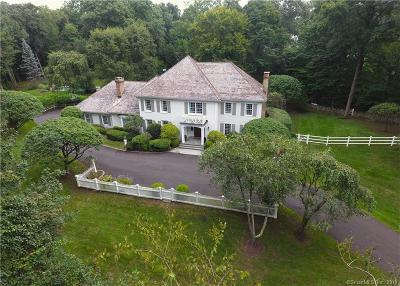 Darien Single Family Home For Sale: 35 Scofield Farms