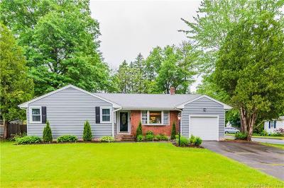 West Hartford Single Family Home For Sale: 29 Crabapple Road