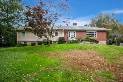 Stamford Single Family Home For Sale: 524 West Hill Road