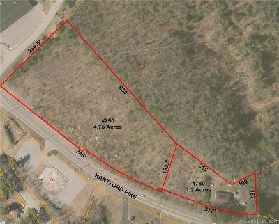 Windham County Residential Lots & Land For Sale: 750 & 780 Hartford Pike