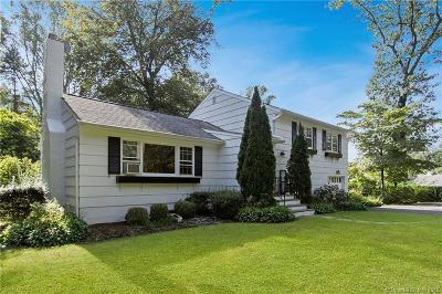 New Canaan Single Family Home For Sale: 585 New Norwalk Road