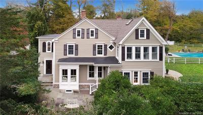 Ridgefield Single Family Home For Sale: 174 North Salem Road