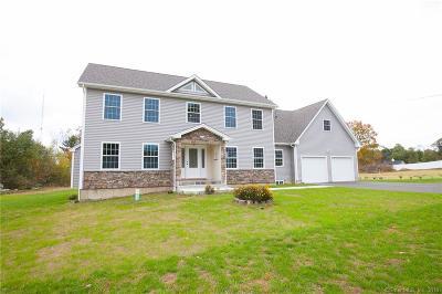 East Windsor Single Family Home For Sale: 107 Old Ellington Road