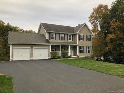 Wolcott Single Family Home For Sale: 34 Mountain View Drive