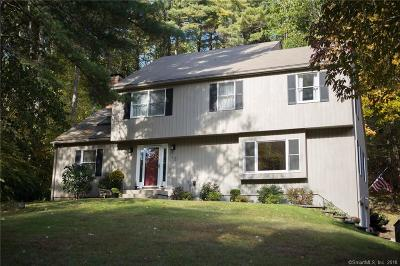 Simsbury Single Family Home For Sale: 12 Northgate