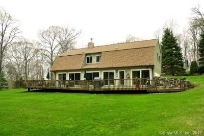 Southbury Single Family Home For Sale: 376 Chestnut Tree Hill Road