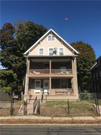 Meriden Multi Family Home For Sale: 166 Sherman Avenue