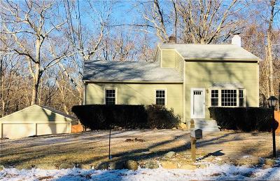 Ledyard Single Family Home For Sale: 82 Vinegar Hill Road