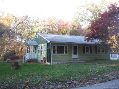 Norwich Single Family Home For Sale: 73 Cranberry Pond Road