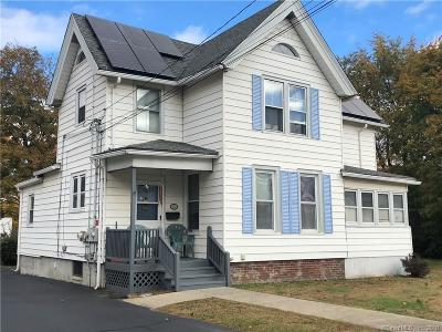 Meriden Single Family Home For Sale: 191 Cutlery Avenue