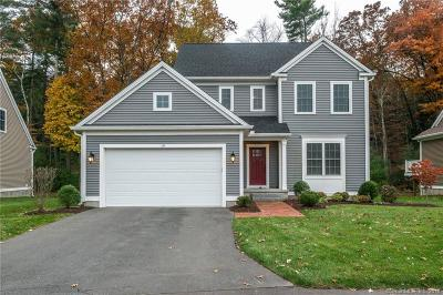 Simsbury Single Family Home For Sale: 10 Carson Way #10