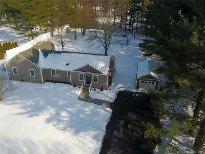 Simsbury Single Family Home For Sale: 422 Bushy Hill Road