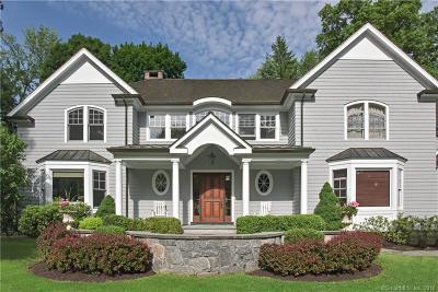 Ridgefield Single Family Home For Sale: 43 Peaceable Street