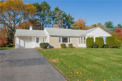 Wethersfield Single Family Home For Sale: 481 Prospect Street