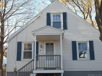 Waterbury Single Family Home For Sale: 35 Beverly Avenue