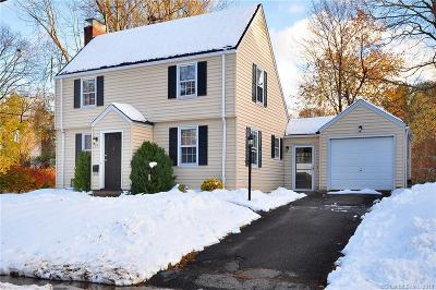 West Hartford Single Family Home For Sale: 25 Boswell Road