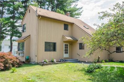 Simsbury Condo/Townhouse For Sale: 4 Hazel Court #4