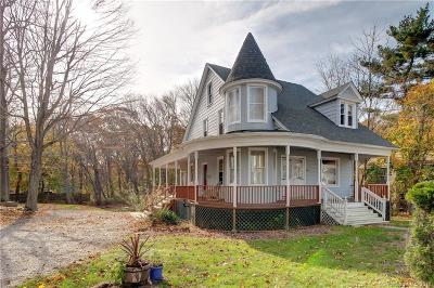 New London Single Family Home For Sale: 366 Jefferson Avenue