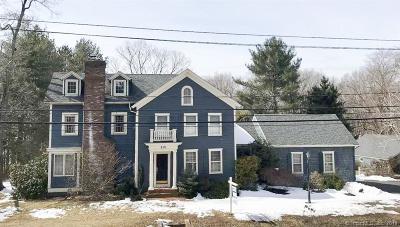 Portland Single Family Home For Sale: 956 Glastonbury Turnpike