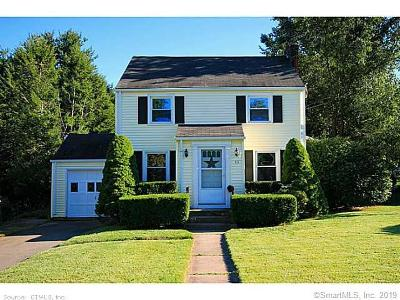 West Hartford Single Family Home For Sale: 55 Bentwood Road