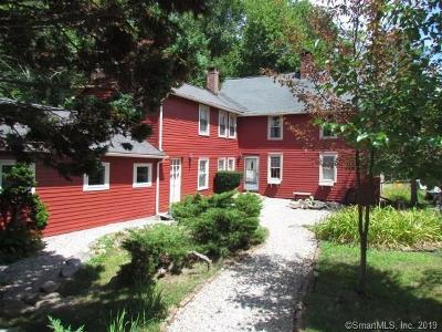 Canton Single Family Home For Sale: 190 Cherry Brook Road