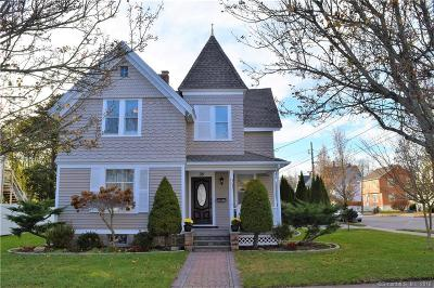 Stonington Single Family Home For Sale: 35 Moss Street