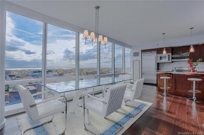 Stamford Condo/Townhouse For Sale: 1 Broad Street #PH25F