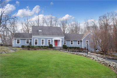 Ridgefield Single Family Home For Sale: 67 Nod Road