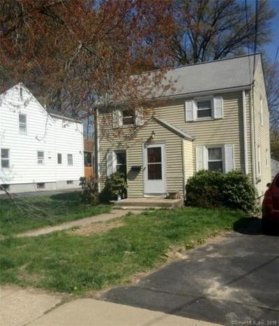 West Hartford Single Family Home For Sale: 42 Edgemere Avenue