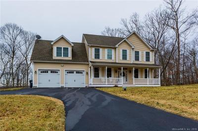 Ledyard Single Family Home For Sale: 63 Bittersweet Drive