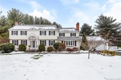 Simsbury Single Family Home For Sale: 62 Winterset Lane