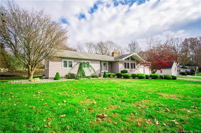 Branford Single Family Home For Sale: 25 Deer Path Road