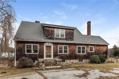 Ledyard Single Family Home For Sale: 1733 Center Groton Road