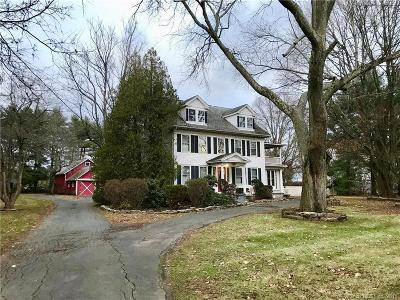 Wallingford Single Family Home For Sale: 180 Cook Hill Road