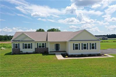 East Windsor Single Family Home For Sale: 309 East Road #Lot 19
