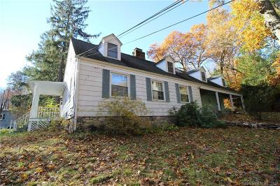 Stamford Single Family Home For Sale: 646 Rock Rimmon Road