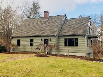 Windham County Single Family Home For Sale: 192 Black Hill Road