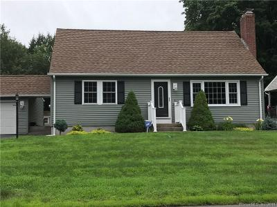 Bristol Single Family Home For Sale: 55 Saw Mill Road