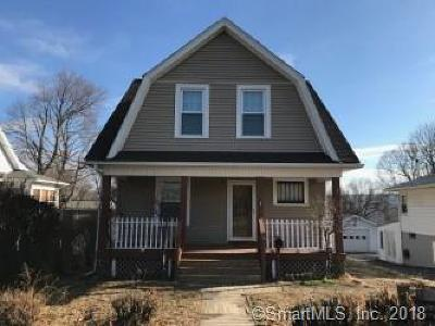 Waterbury Single Family Home For Sale: 151 Geddes Terrace