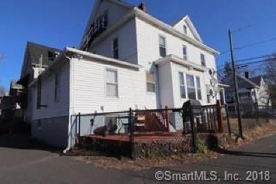 Meriden Multi Family Home For Sale: 261 Cook Avenue